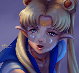 Night Elven Sailormoon