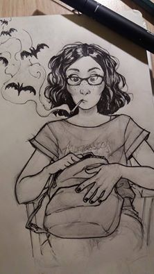 Sketch by TansaKourti