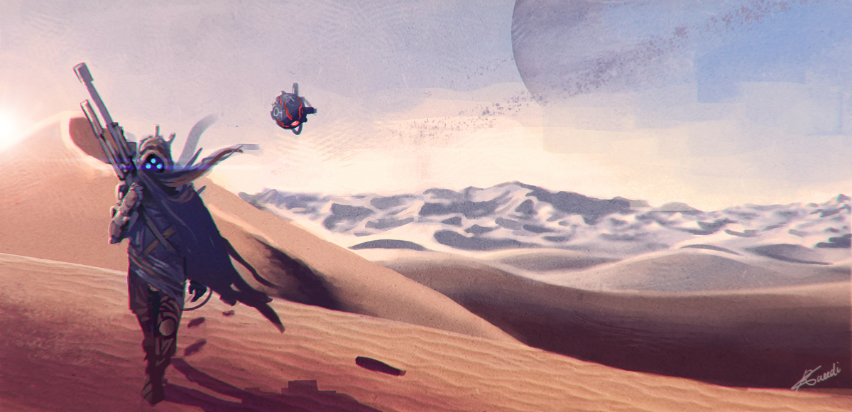 sandplanet by ramtin-s