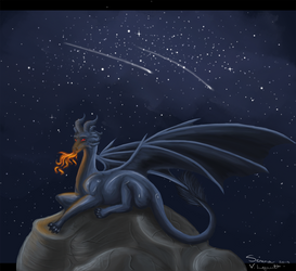 There's a Fire in the Universe by addiedog
