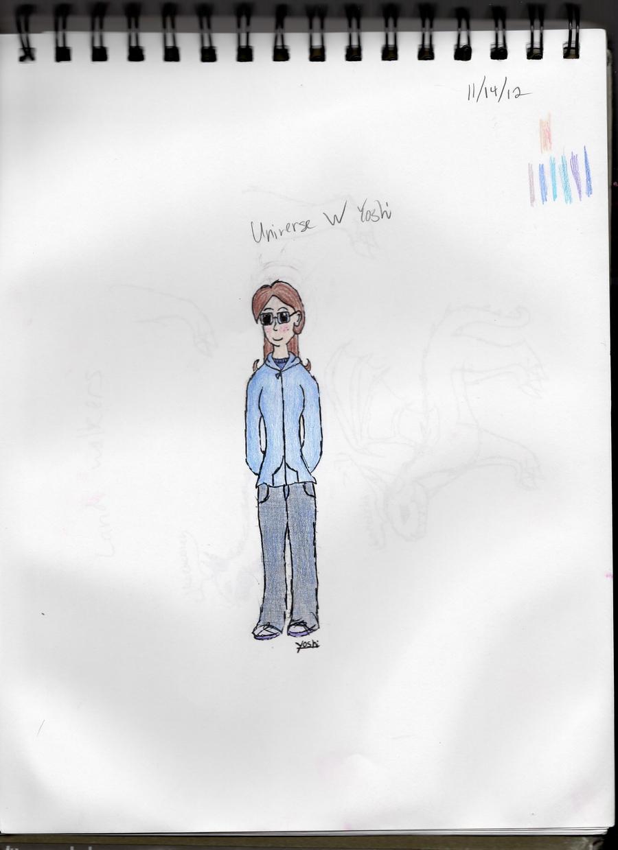 Universe W Yoshi by YoshiSoren