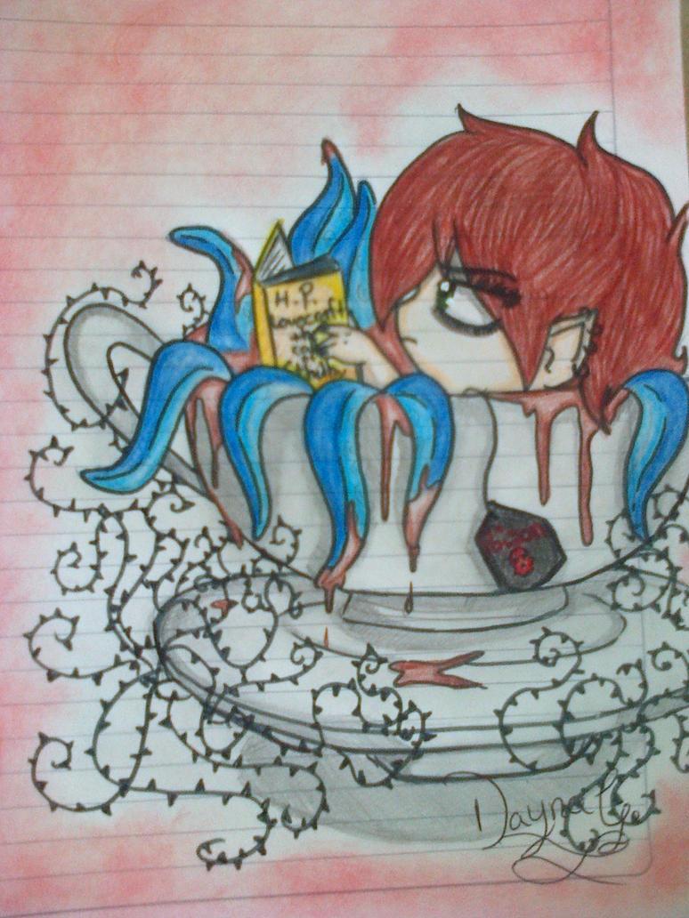 Poison tea bath by Spookytaco99