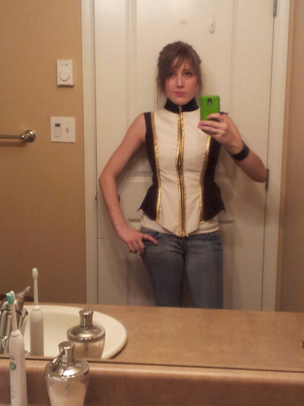 More Scarlett jacket/corset by Tarah-Rex
