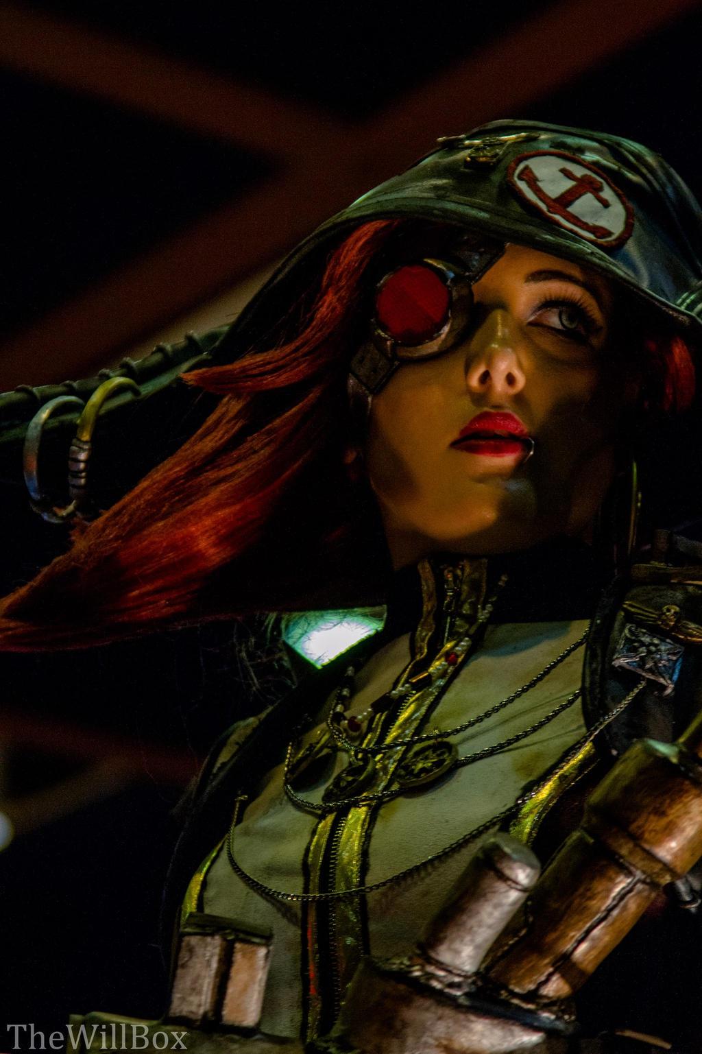 Captain Scarlett Closeup by Tarah-Rex