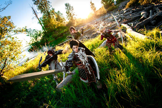 Dragon Age Inquisition Group Cosplay