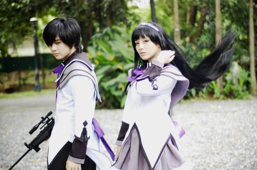 Homura Akemi Cosplay - Puella Magi Madoka Magica