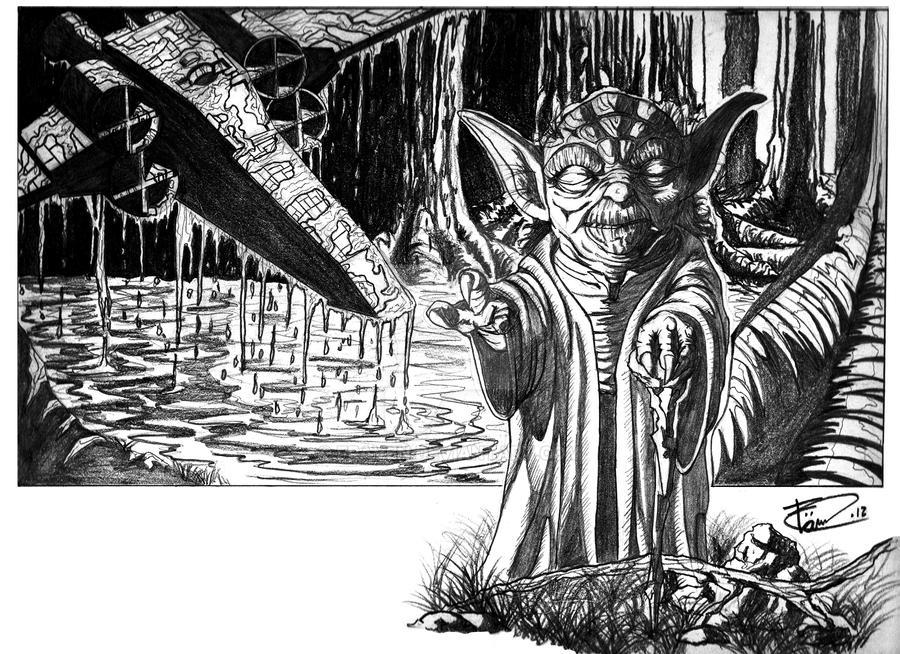 Yoda by Fraven