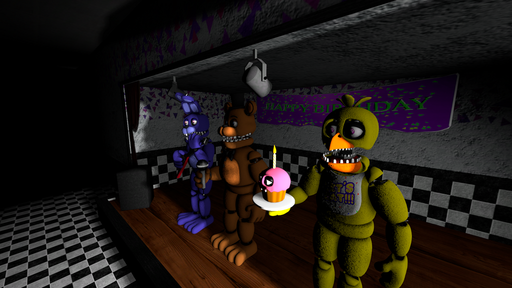 Unwithered Animatronics On Stage Related Keywords