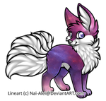 Points Adopt #003 Nebula Kitsune (CLOSED)