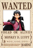 One Piece Luffy Bouny Poster, Strong Edition by lawrencebrenner
