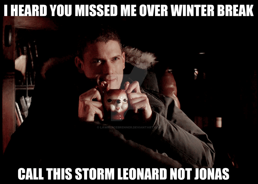 Captain Cold Winter Storm Jonas Meme By Lawrencebrenner On Deviantart