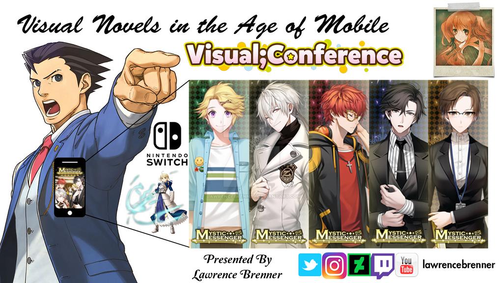 Visual Novel Conference Title by lawrencebrenner