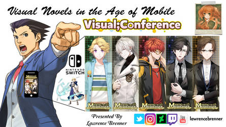 Visual Novel Conference Title