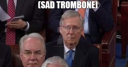 Sad Trombone Mitch by lawrencebrenner