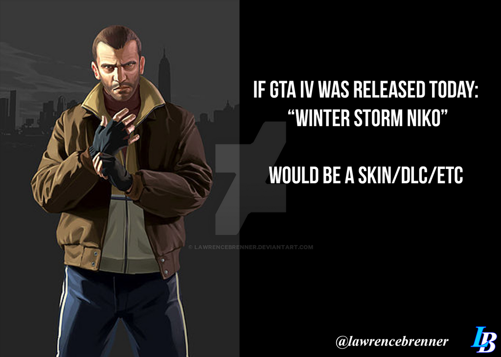 GTA Joke about Winter Storm Niko by lawrencebrenner