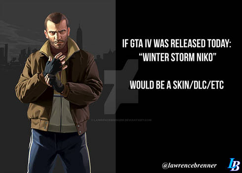 GTA Joke about Winter Storm Niko