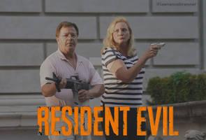 Resident Evil (as the St. Louis Couple) Meme