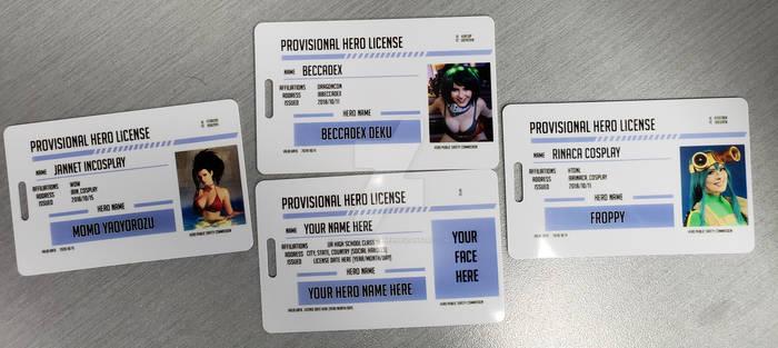 My Hero Academia Licenses
