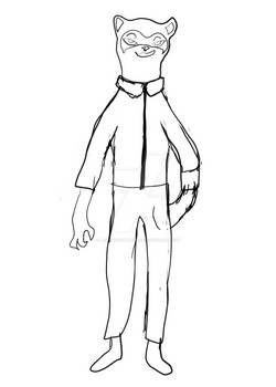 Concept Art for Corporate Mascot Named Trixie