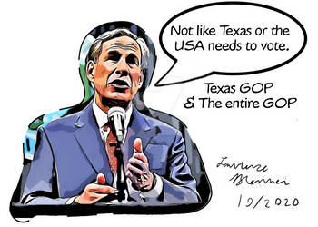 Texas GOP Political Cartoon