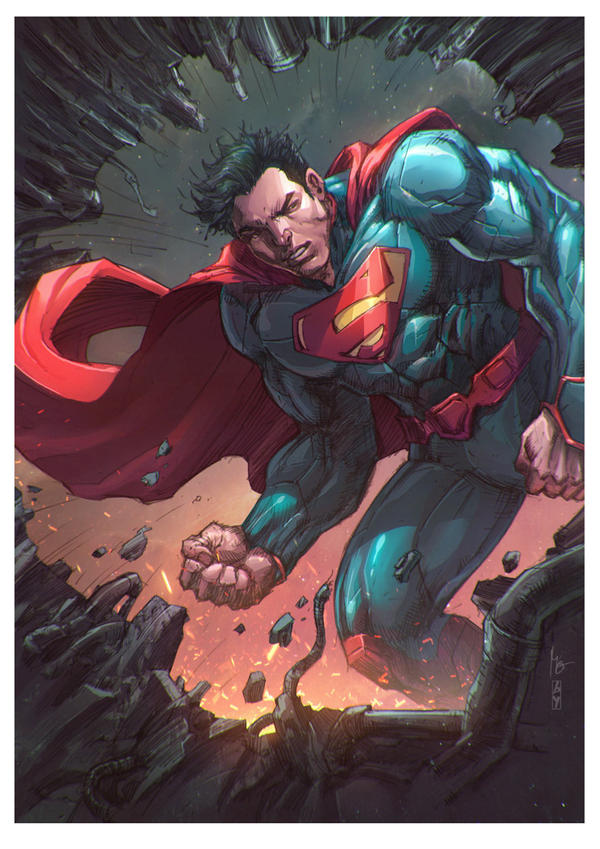 Superman Unchained by BryanValenza