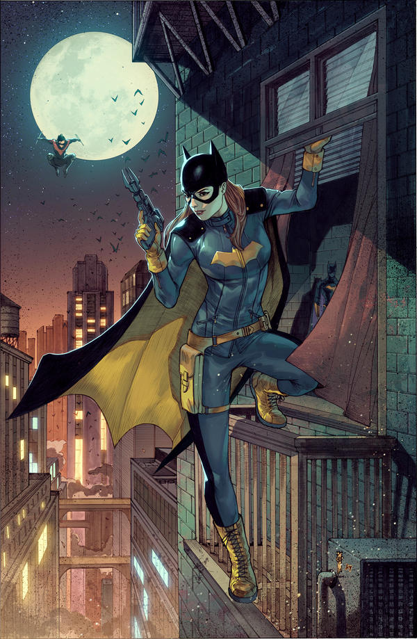 Batgirl New Suit by BryanValenza