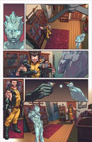 Marvel's Portfolio Review 2014 - Sequential 03 by BryanValenza