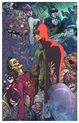 The Dark Knight vs Arkham by BryanValenza