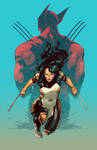 X-23 Cover Recolor Project