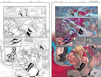 Marvel sample page_THOR 02 by BryanValenza