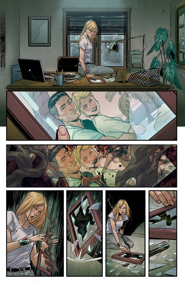 Witchblade #2 page 06 by BryanValenza