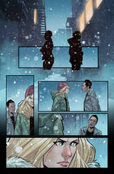 Witchblade #5 page 17 by BryanValenza