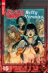 RED SONJA n VAMPIRELLA meet BETTY n VERONICA #5