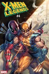 X-Men Legends #4 Cover