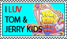 Tom and Jerry Kids stamp by Just-To-Look1