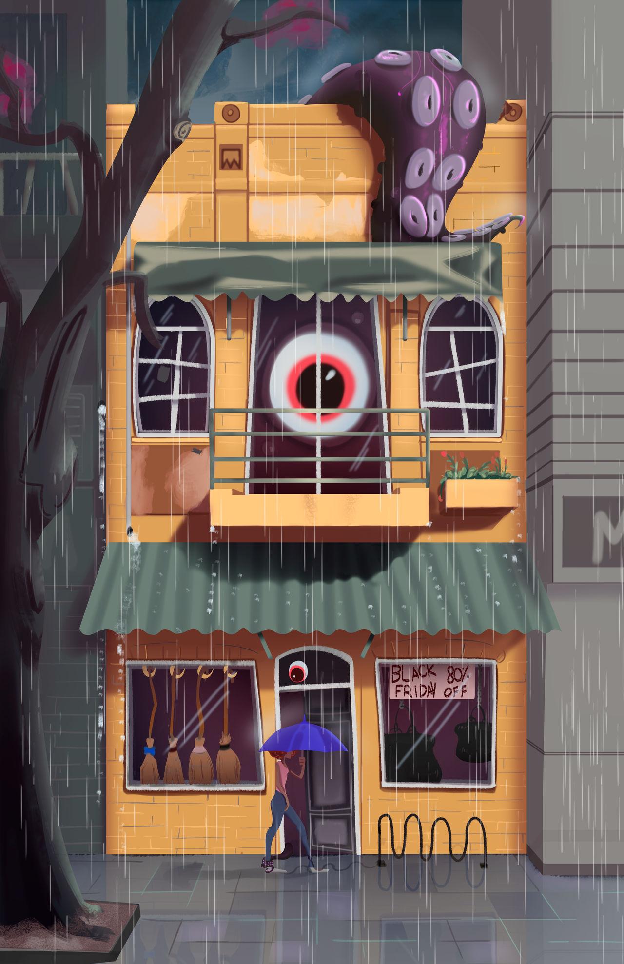 A Spooky shop