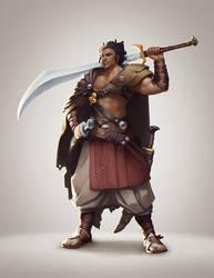nomad Slayer by Minikaw