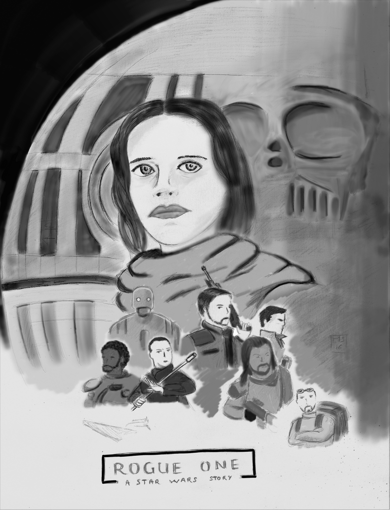 star wars rogue one by moutonshield