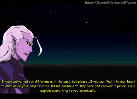 Fake Voltron Screenshot- Lotor speaks out