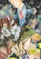 Saigon,Flower And Tear by PotatoPou