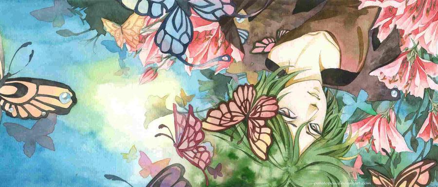 Butterfly by PotatoPou