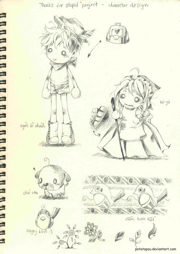 Sketch 05 by PotatoPou