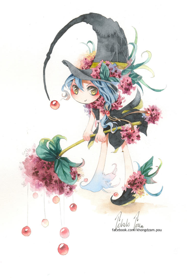 Flower Wizard by PotatoPou