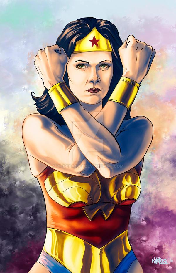 55a951cce2 Linda Carter is...Wonder Woman by KHOBRA1981 on DeviantArt