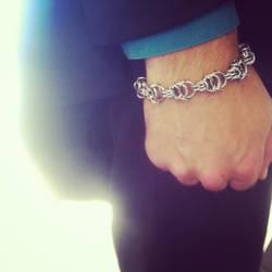 Kolaeos Bracelet by metalweavedesigns