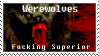 Werewolf Stamp by Pesonal-Vendetta
