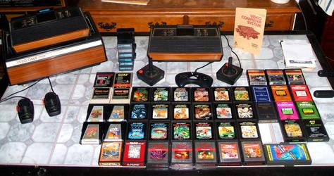 Atari 2600 pic1 by LevithorArtsPhotos