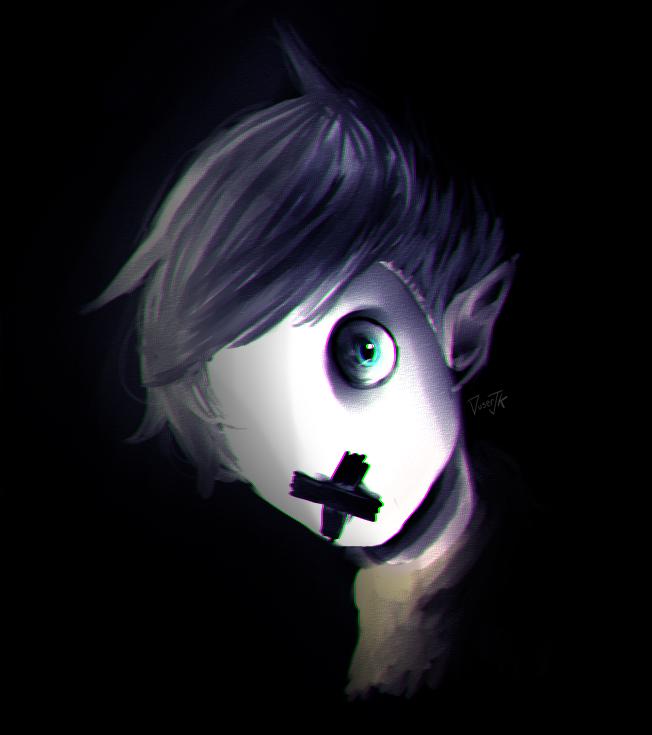 jaaku .... uhh creepy by Duser-JK