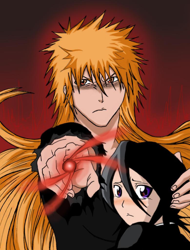 Never hurt Rukia... by AlyssasART