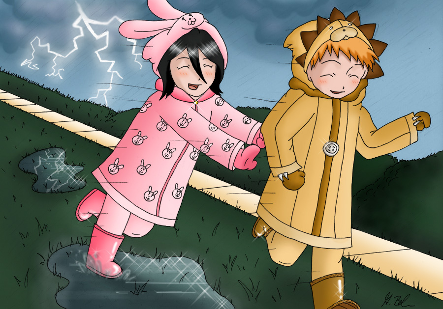 IchiRuki's Childhood by AlyssasART
